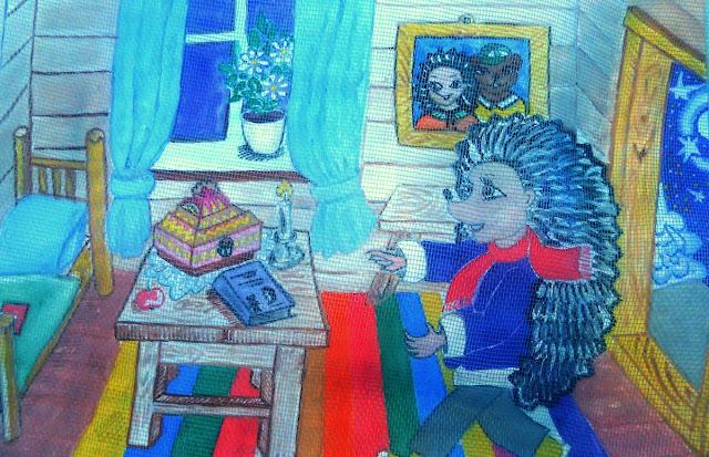 Сказки Леса: Ёжик и волшебная ночь - домик Ёжика