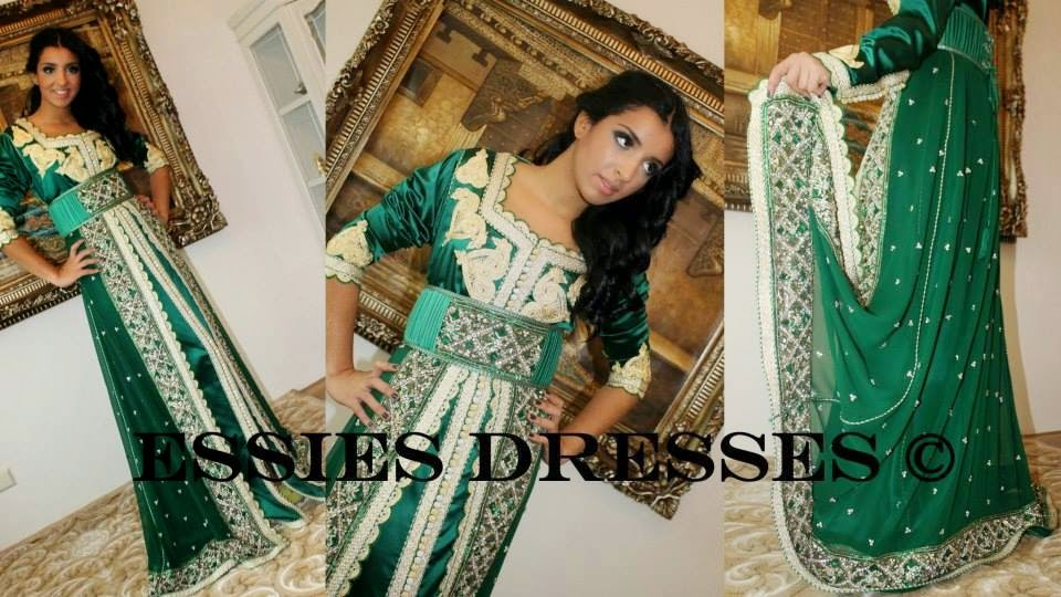 Robe soiree marocaine