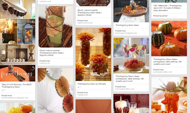 ideas decoración thanksgiving decorations