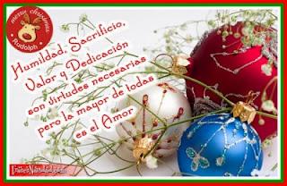 Frases De Navidad: Humildad Sacrificio Valor