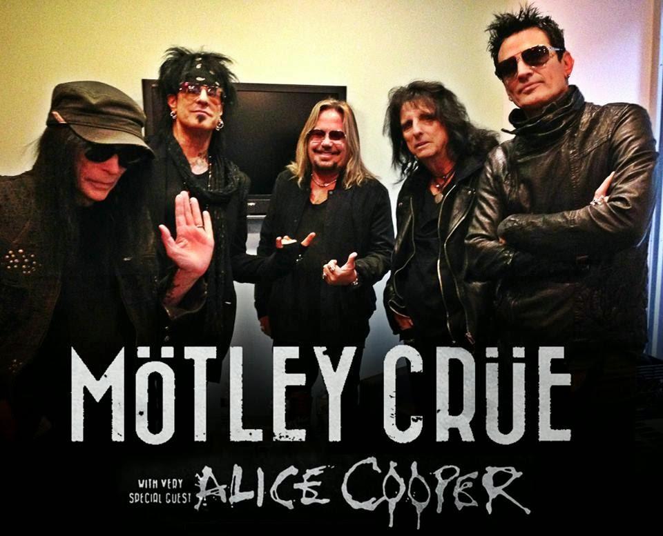Alice Cooper Spring  Tour Poster
