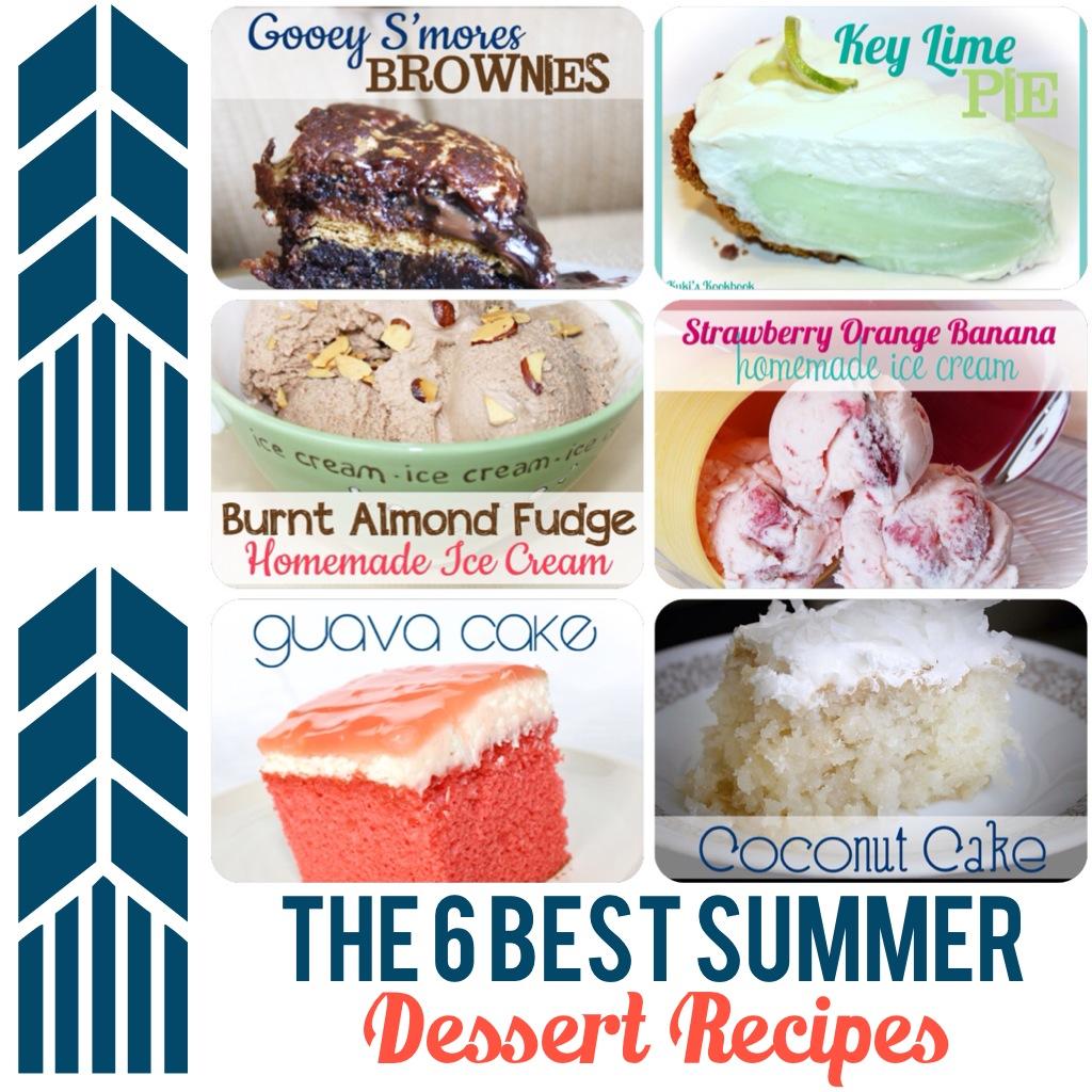 kuki s kookbook the 6 best summer desserts