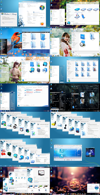 Windows 7 Luxury x86 & x64