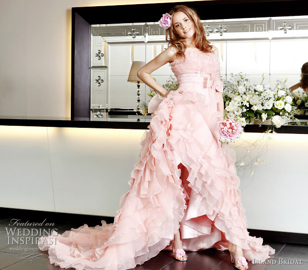 Wedding Gown Light Pink 45