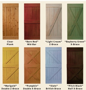 Merveilleux All Of Our Barn Style Planked Doors Are Hand Made From Knotty Pine. We  Offer Several Different Styles And Finishes Or The Door Can Be Purchased  Unfinished ...