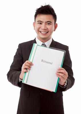 cara membuat resume untuk jabatan internal