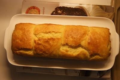 twd : golden brioche loaf and raisin swirls
