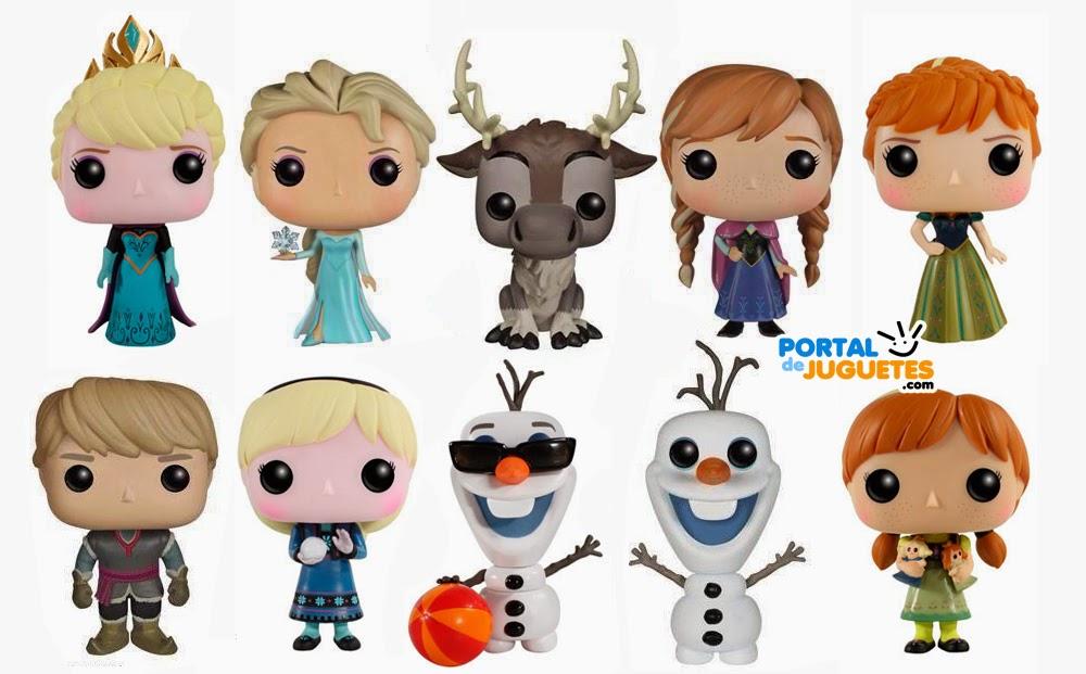 figuras frozen funko coleccion completa