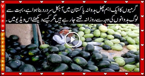 Clever Bike Snatchers in Pakistan Snatching Bikes with Watermelon