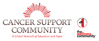 Cancer Support Community, Gilda's Club and The Wellness Community logos