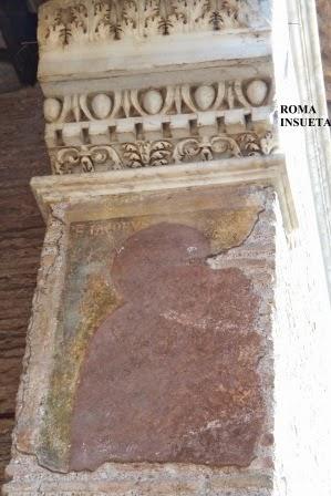 Roma insueta il brano affrescato dei sensi dell uomo for Disegni del portico laterale