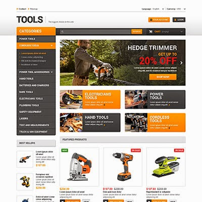 Quality Tools PrestaShop Theme