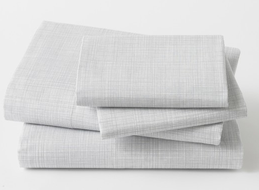 dwell studio crosshatch sheets