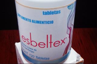 Frasco de 20 tabletas de suplemento alimenticio