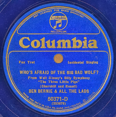 Who's Afraid of the Big Bad Wolf Record - Source: Wikipedia