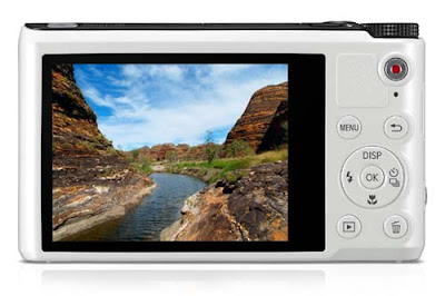 Samsung WB200F with 3 inch TFT LCD Display