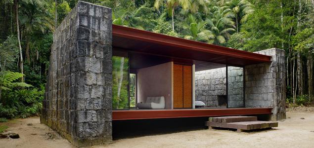 simplicity love rio bonito house brazil carla jua aba. Black Bedroom Furniture Sets. Home Design Ideas