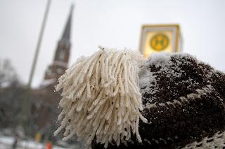 Berlinois sous la neige
