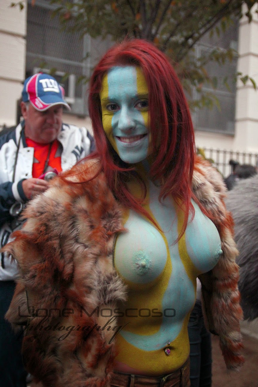 New York City body Art  Painting -  body painting by Andy Golub