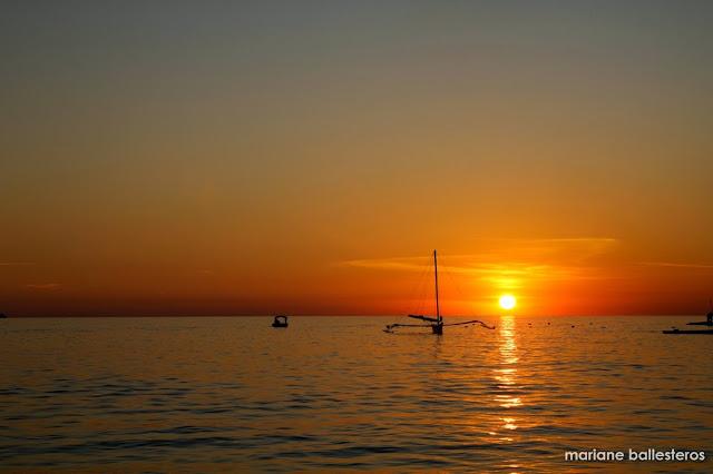 sunset boracay