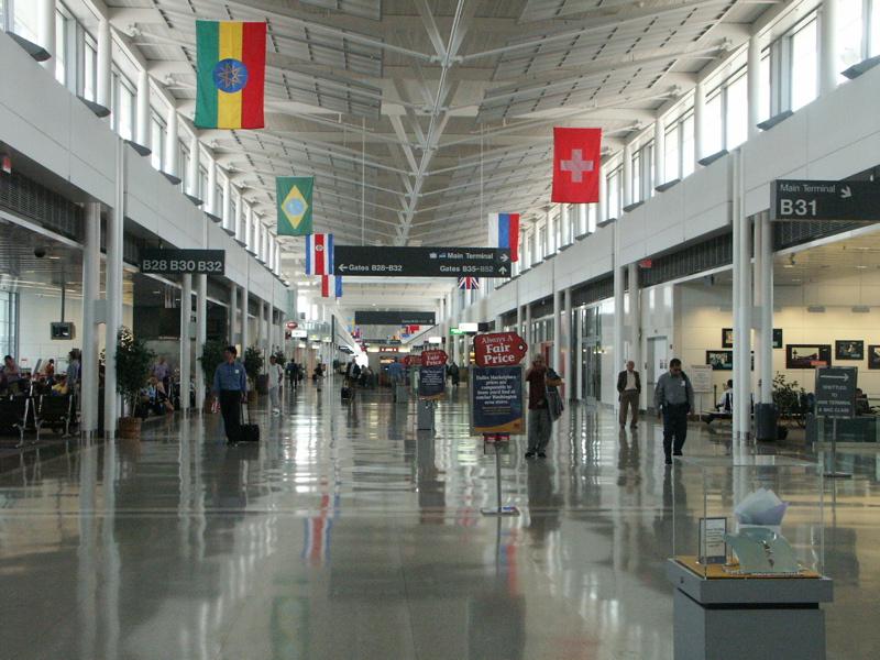 Aeroporto Washington : Perversa beleza