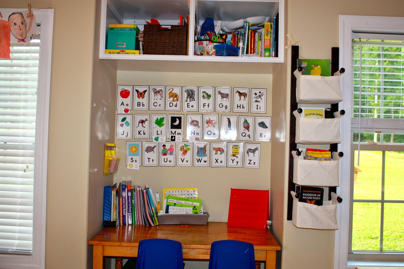 Holy Family Classical Academy New School Room Tour