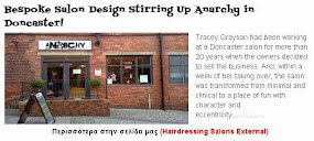 Bespoke Salon Design Stirring Up Anarchy in Doncaster!