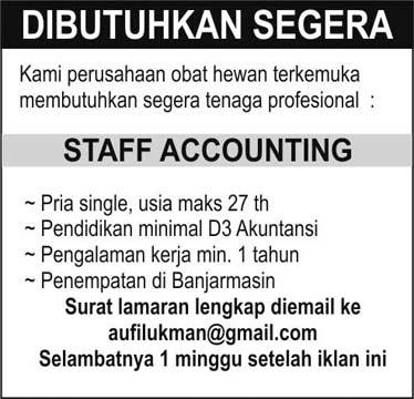 lowongan kerja terbaru wilayah Kalimantan selatan 2013 ...