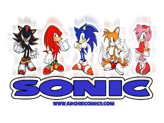Sonic 3D Go On Cellular Phone