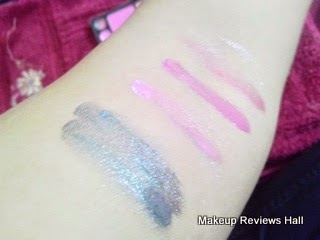 Danni Makeup Lip Gloss Swatches