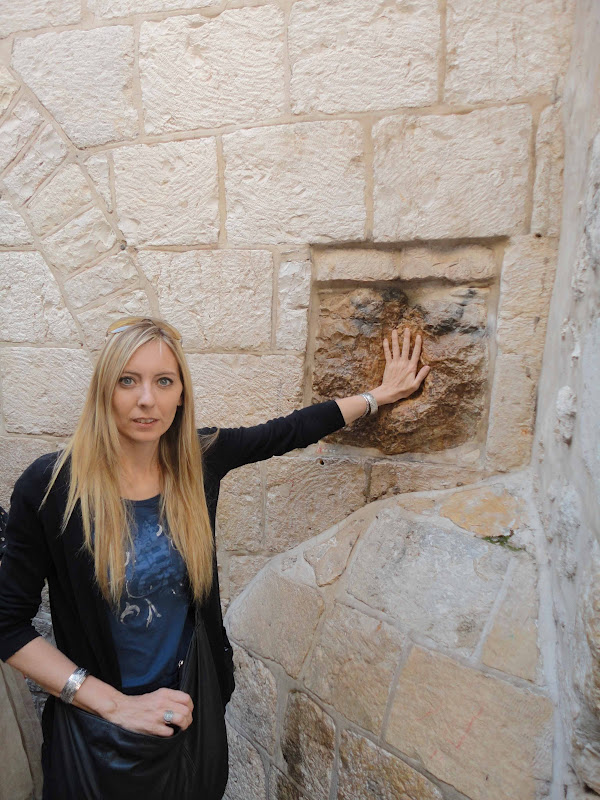 Jerusalén:Columna de la Verónica