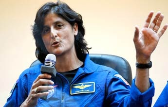 Sunita Williams Wikipedia Accepted islam latest news biography images/pics youtube videos