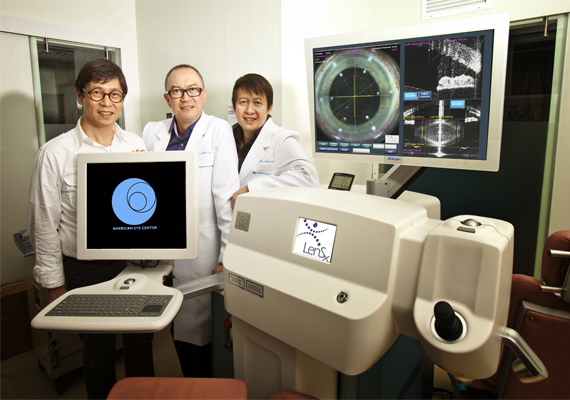 First in Asia: American Eye Center Launches Most Advanced Method of Cataract Surgery