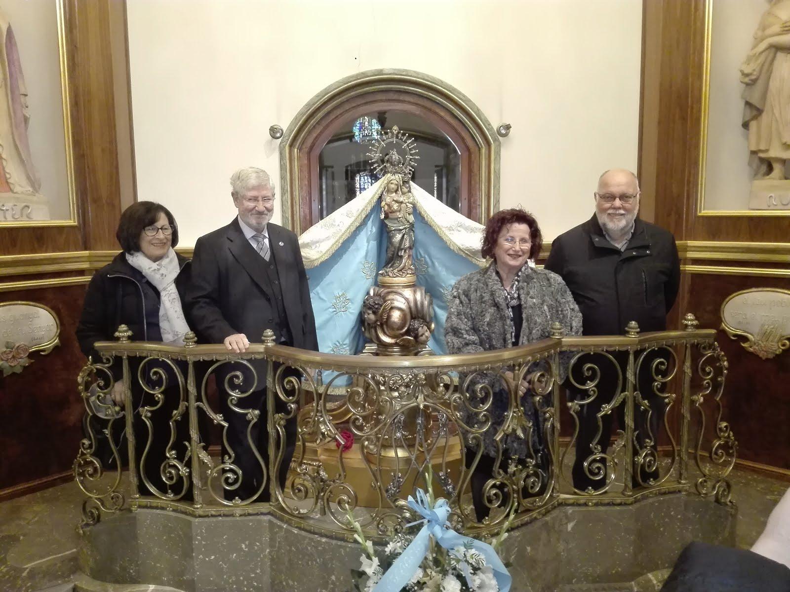 """Peregrinació anual al Santuari de la """"Pia Germandat de sant Isidre i santa Llúcia"""