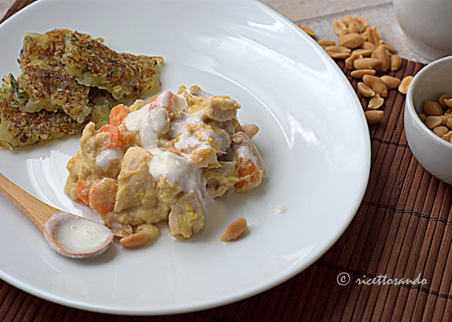 blanquette di pollo alle arachidi