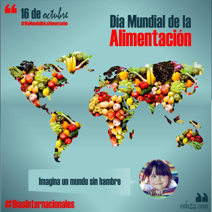 16 de octubre – Día Mundial de la Alimentación #DíasInternacionales