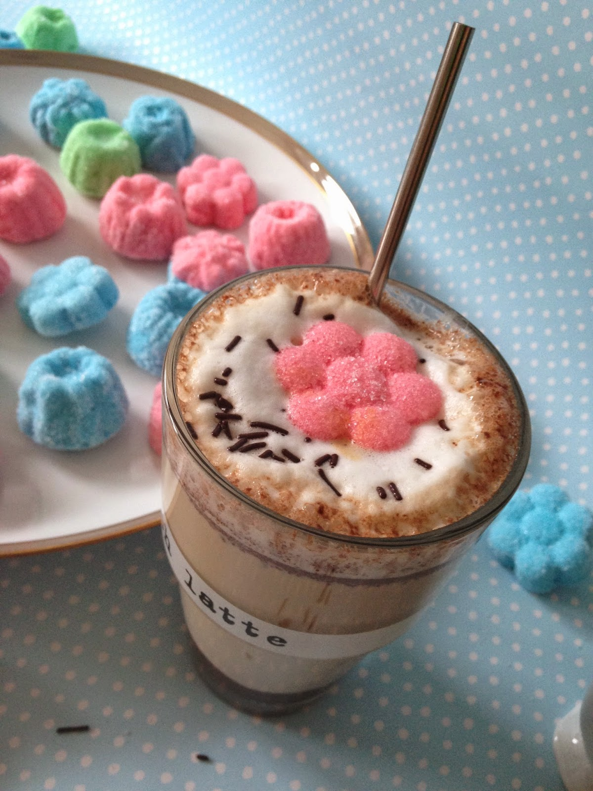 heute gibt 39 s geb ck baileys latte macchiato mit selbst gemachten marshmallows. Black Bedroom Furniture Sets. Home Design Ideas