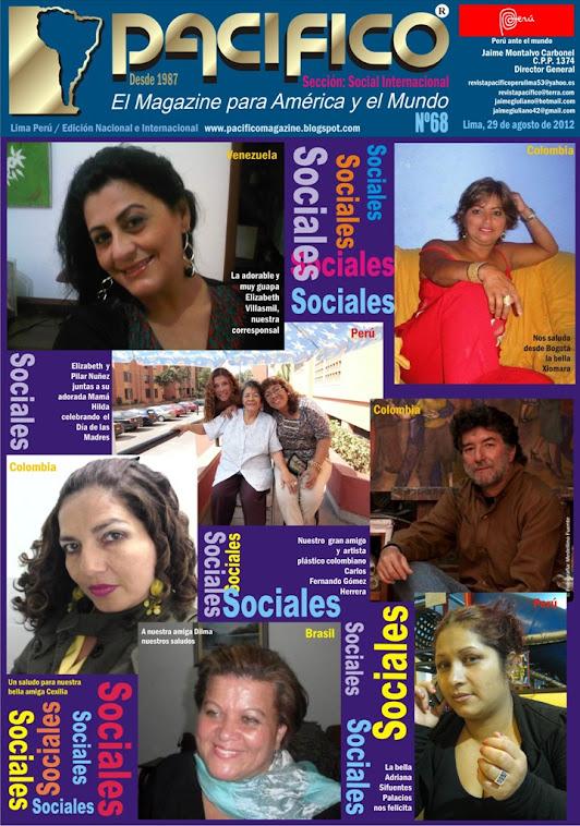 Revista Pacífico Nº 68  Social Internacional