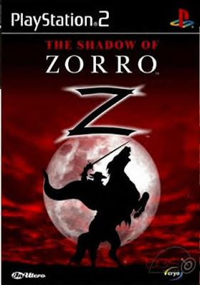 The Shadow of Zorro PS2  (Raríssimo)