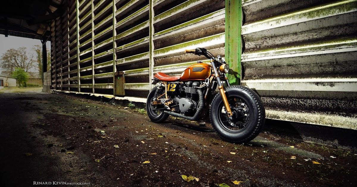 Racing Caf U00e8  Triumph  U0026quot Bobber U0026quot  By Fcr Original