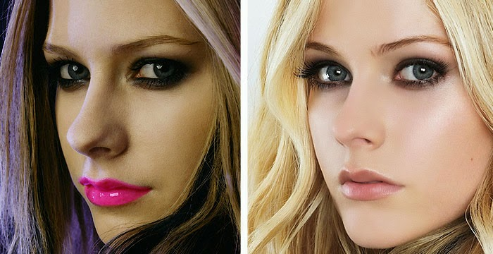 avril lavigne plastic surgery breast implants nose job before and