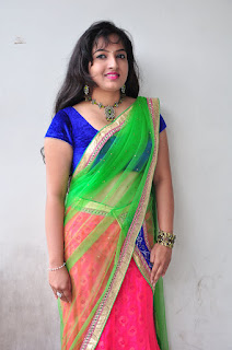 New actress Roshini half saree Picture shoot 026.jpg