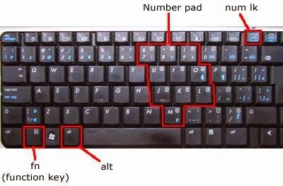 Hướng dẫn sửa lỗi bàn phím laptop acer gõ chữ ra số