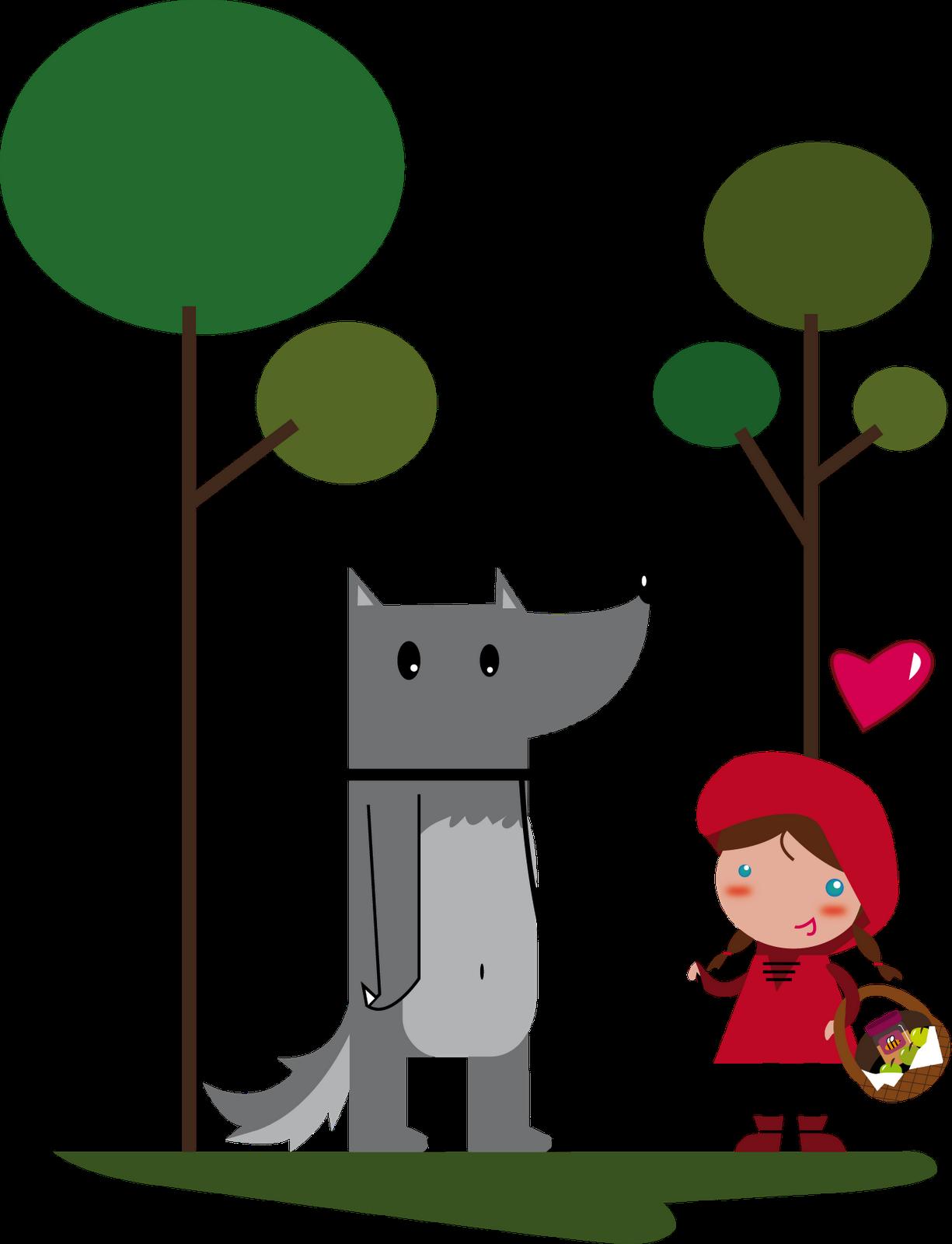 Caperucita Roja y el Lobo... ¿feroz?