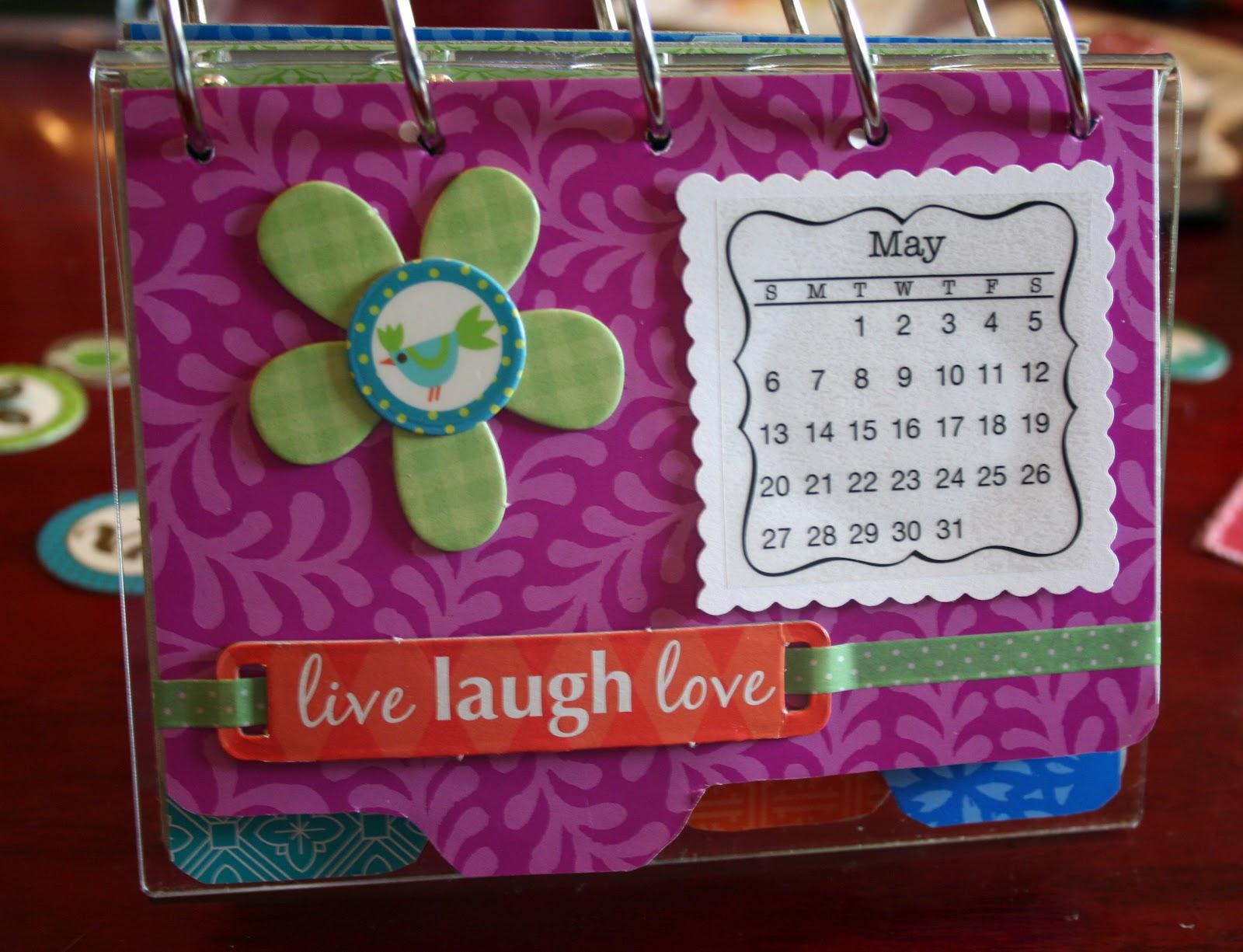 Calendar Handmade How To Make : The experimental crafter handmade calendar