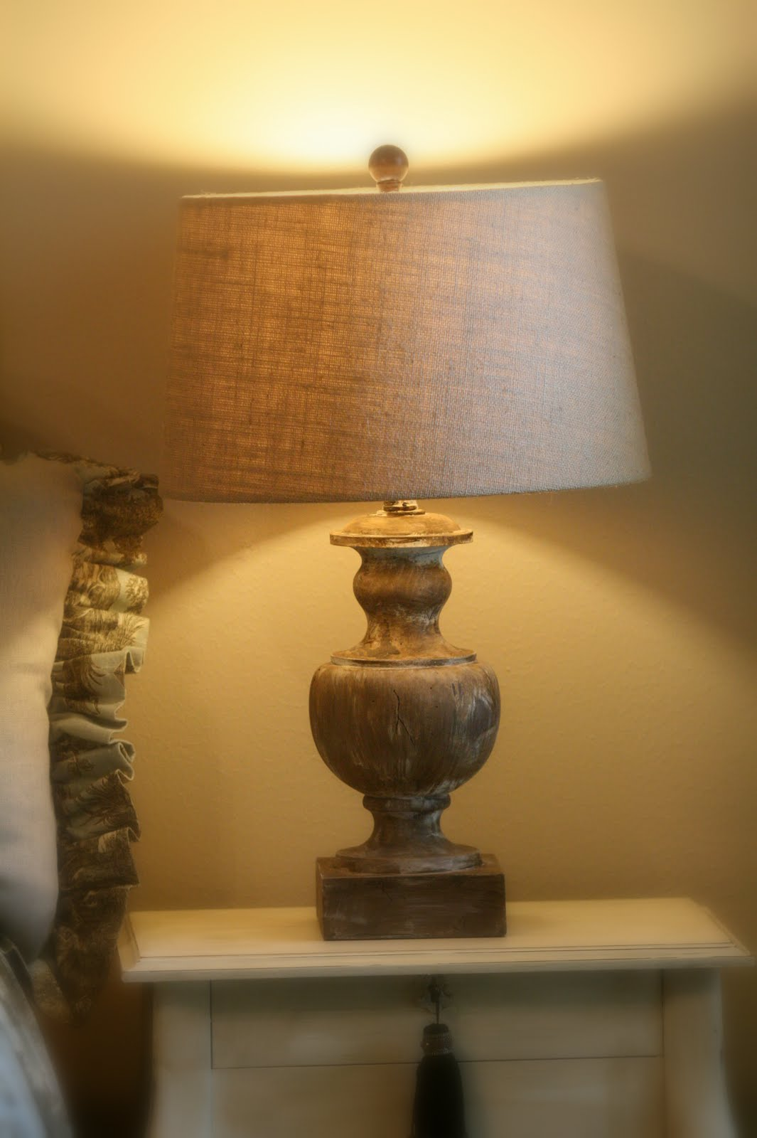 Lamp From Drab To Fab With Chalk Paint