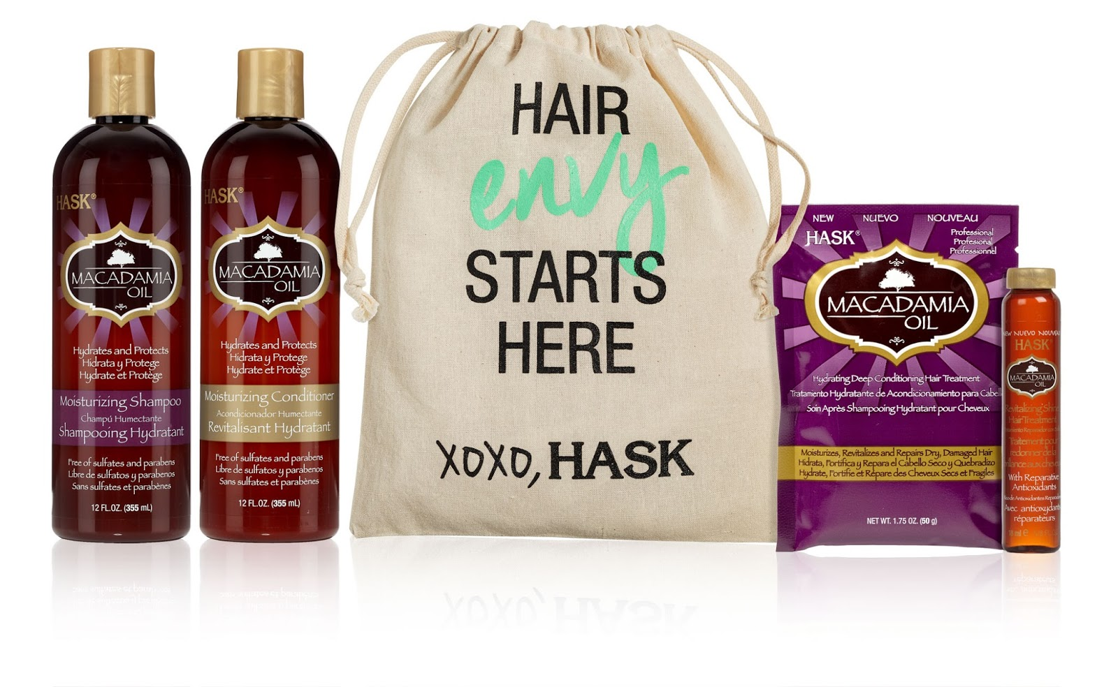 Macadamia oil hair products reviews