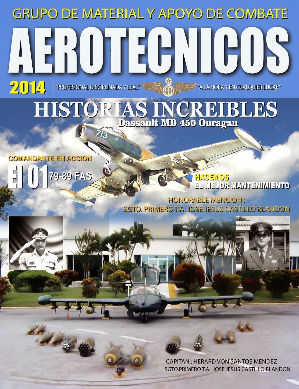 AEROTÉCNICOS: Historias increíbles