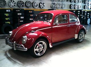 vw fusca 1966 roda vintage scarabajo r17 polish pneus aderenza 205