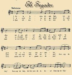Els Segadors - Nationalsången